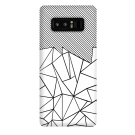 Galaxy Note 8  AB Lines 45 White by Project M ()