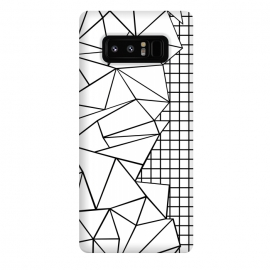 Galaxy Note 8  AB Side Grid White by Project M ()