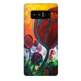 Galaxy Note 8  Blue High Tulips on Fire by ANoelleJay ()