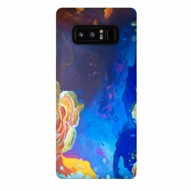 Galaxy Note 8  Mad Lucy's Golden Roses by ANoelleJay ()