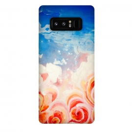 Galaxy Note 8  Peachy Roses by ANoelleJay ()