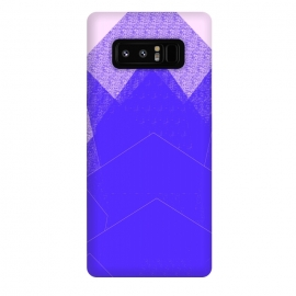 Galaxy Note 8  Sunset Mountain Blue by ANoelleJay ()