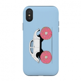 iPhone X  Trunkin' Donut by Julien Missaire