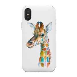 Colorful Giraffe by Brandon Keehner ()
