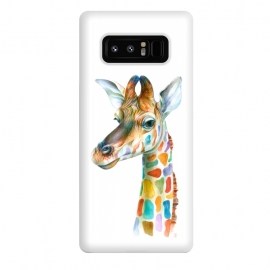 Galaxy Note 8  Colorful Giraffe by Brandon Keehner ()