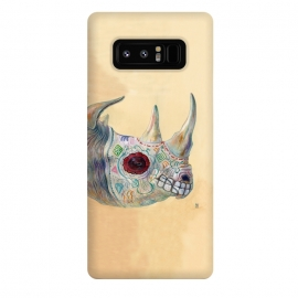 Galaxy Note 8  Day of the Dead Rhino by Brandon Keehner ()