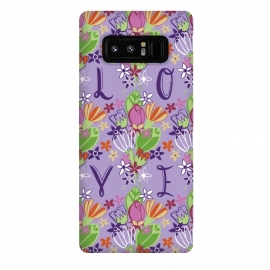 Galaxy Note 8  Spring Love by Rhiannon Pettie (LOVE,spring,floral,flowers)