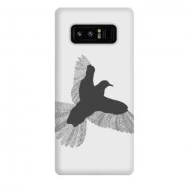 Galaxy Note 8  Bird Grey Poster Grey by  ()