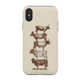 iPhone Xs / X  Cow Cow Nuts by Florent Bodart
