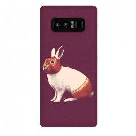 Galaxy Note 8  Rabbit Wrestler SQUARE by Florent Bodart ()