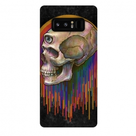 Galaxy Note 8  Winya 45 by Winya (skull,skeleton,color full,guardian,spirit,god,popular,best seller,awesome,death,dead,line work,baroque,art line,tattoo design,tattoo,horror,pop culture,nature,halloween,dark,great,bone,feather,amulets,charm,arrow,tongue,shaman,sorcerer,ghost doctor,black magic,voodoo,exorcist,evil,third eyes,death m)