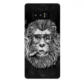 Galaxy Note 8  Winya 47 by Winya (comics,pop culture,scar,scary,sci fi,cartoon,impressive,terrific,popular,best seller,modern art,awesome,fantastic,nice,geek,artsy,beautiful,nature,black white,dog,line work,art line,baroque,tattoo,wtf,horror,dark,lion,king,animal,leo,forest,guardian,big tiger,spirit,lion hearted,god,lion face)