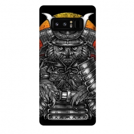 Galaxy Note 8  Winya 63 by Winya (ronin,martial,katana,bushido,tattoo art,bird,owl,samurai,war,dark,art line,horror,animal,line work,spaulder,fighter,warrior,japan,suit of armor,hip ster,fantasy,monster,spirit,pop culture,surrealism,protective mask workwear,face guard sport,mask disguise,emperor,japanese culture,sword,ancient,cultur)