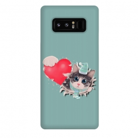Galaxy Note 8  Cat Steal your Heart by Tummeow ()