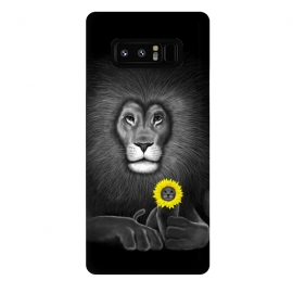 Galaxy Note 8  Lion by Tummeow ()