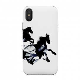 iPhone Xs / X  Black Horses by  ()