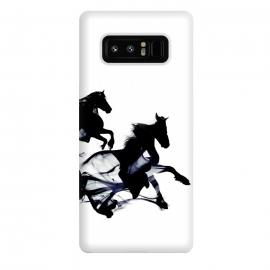 Galaxy Note 8  Black Horses by