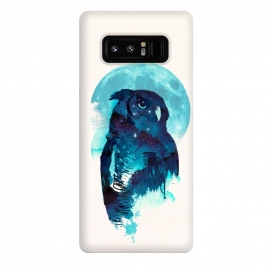 Galaxy Note 8  Midnight Owl by Róbert Farkas ()