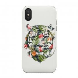 iPhone Xs / X  Tropical Tiger by  ()