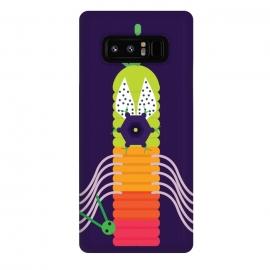 Galaxy Note 8  Catterpiller by  (animal, art ,creative art,cartoon )