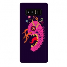 Galaxy Note 8  Seveneye by Parag K (art,cartoon, eyes,pink,creative face,design,animal)