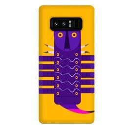Galaxy Note 8  Catterpiller2 by  (art ,design,animal,creative art,yellow)
