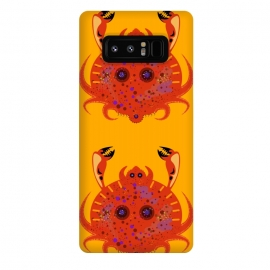 Galaxy Note 8  Crab by  (art ,animal,sea,fish,creative art,design,Crab)