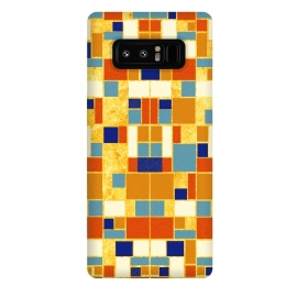 Galaxy Note 8  Colors of the royals 贵の彩 by EY Chin (royal,ancient,vintage,pattern,gold,egypt,blue,red,orage,brown,geometric,square,symmetry,abstract,arab,turquoise,agate,carnelian,ethnic)