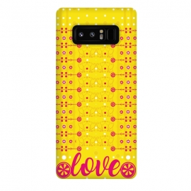 Galaxy Note 8  Cat Lovers by  (cat ,vector,pattern,love)