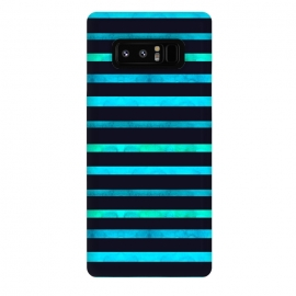Galaxy Note 8  Surf Stripes by Amaya Brydon (surf,stripes,ocean,geometric,abstract)
