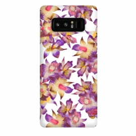 Galaxy Note 8  Vintage Floral by Amaya Brydon (rchid,floral,pattern,botanical)