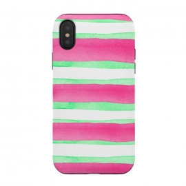 Peppermint Candy by Amaya Brydon (peppermint,stripes,green,pink,summer)