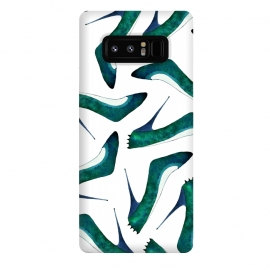 Galaxy Note 8  Green With Envy by Amaya Brydon (shoes,stiletto,spikes,fashion,runway)