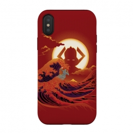 Surfing with the Alien by Samiel Art (samiel,samielart,silver surfer,galactus,comic,comics,hokusai,great wave,kanagawa,japan art,surf,landscape)