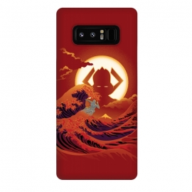 Galaxy Note 8  Surfing with the Alien by  (samiel,samielart,silver surfer,galactus,comic,comics,hokusai,great wave,kanagawa,japan art,surf,landscape)
