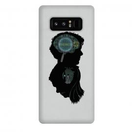 Galaxy Note 8  Mind and Heart by  (samiel,samielart,sherlock,holmes,watson,silhouette,detective,movies,pop culture)