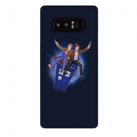 Galaxy Note 8  THE DOCTOR'S TIMEY-WIMEY ADVENTURE by SKULLPY (DR WHO,BILL AND TED,MOVIES, TV SHOW,TARDIS,DOCTOR,NERD, NERDY,MASHUP,10TH DOCTOR, 11TH DOCTOR,POP)