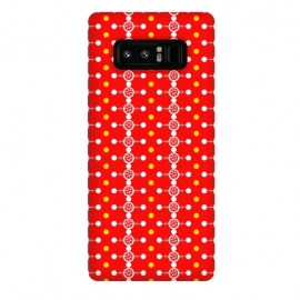 Galaxy Note 8  Orange Pattern by  (vector,color,pattern,geometric,abstract,orange)