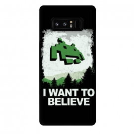 Galaxy Note 8  I WANT TO BELIEVE by SKULLPY (SKULLPY,XFILES,MOVIES, FILMS, TV, TV SHOWS,SPACE INVADERS,80'S,90'S,80S,90S,EIGHTIES, NINETIES,MULDER, SCULLY,PIXEL, PIXELART, RETROGAMING,INVADERS,I WANT TO BELIEVE,X FILES,SPRITES,NAMCO)