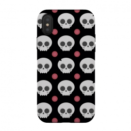 Skulls Pattern by Dellán (skull,spooky,funny,halloween,witch,katrina,pattern,black and white,skeleton)