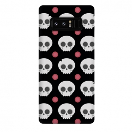 Galaxy Note 8  Skulls Pattern by