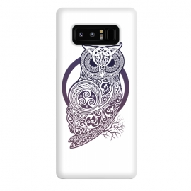 Galaxy Note 8  CELTIC OWL by  (owl,celtic,celtic-knotwork,knotwork,celtic-spirals)