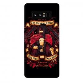 Galaxy Note 8  The Mansion Tavern by  (final fantasy,gaming,gamer,videogame,pub,drink,flyer,vincent valentine,gun,beer,ff7)