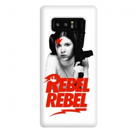 Galaxy Note 8  Rebel Rebel by Alisterny (star-wars, starwars, the-force, theforce, resistance, disney, leia, princess-leia, princessleia, Carrie-Fisher, CarrieFisher, rebel, lucas-film, lucasfilm, classicrock, rock, bowie, davidbowie, david-bowie, rebel-rebel, rebelrebel, lightning-bolt, lightningbolt, Aladdin-Sane, AladdinSane, david-bowi)