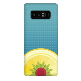 Galaxy Note 8  Blue Hawaii by Dellán (Hawaii,beach,sun,fresh,summer,spring,juice,fruit,good vibes,tropical,blue,foot,gourmet,chef)