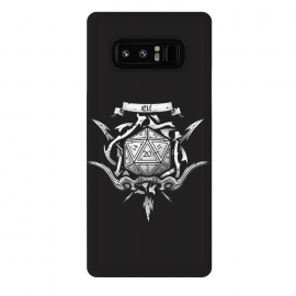 Galaxy Note 8  Elf Crest by Q-Artwork (dnd,dungeons and dragons,adventure,rpg,role play,gaming,gamer,d20,critical hit,game)
