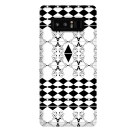 Galaxy Note 8  Black and White by
