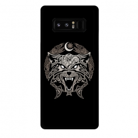 Galaxy Note 8  RAGNAROK WOLVES by RAIDHO (wolf,ragnarok,fenrir,sun and moon,nordic mythology,vikings,knotwork)