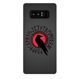 Galaxy Note 8  FUTHARK by  (futhark,vikings,runes,raven,knotwork)