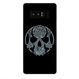 Galaxy Note 8  NIDHOGGR by  (SKULL,DRAGON,NORDIC MYTHOLOGY,VIKINGS,KNOTWORK)